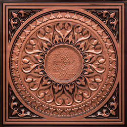 """Decorative Ceiling Tiles - Apollo - Faux Tin Ceiling Tile - 24""""x24"""" - #226 - Find copper, tin, aluminum and more styles of real metal ceiling tiles at affordable prices . We carry a huge selection and are always adding new style to our inventory."""