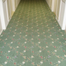 4 Hallways Carpet Installation in Surfside Condo, FL - Americarpet Inc sold and installed 4 commercial carpets for hallways in Surfside Condo, FL. We are quite able to do such big projects even bigger projects.