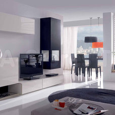 Modern Entertainment Centers And Tv Stands by BA Furniture Stores