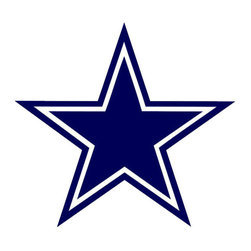 Brewster Home Fashions - NFL Dallas Cowboys Teammate Logo Wall Sticker Decal - FEATURES: