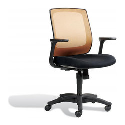 Jesper Office Furniture - Camilla Office Chair in Glow - Features: