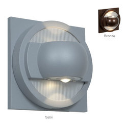 Access Lighting - Zyzx 23060 - LED Outdoor Wall Washer | Access - Access Lighting ZyZx 23060LED Outdoor LED Wall Washer features contemporary design and satin or bronze finish. �_ Manufacturer: Access LightingSize: 5.25 in. height x 5.25 in. length x 3 in. extensionLight Souce: 2 x 3W LED - includedLocation:�_WetADA�_Compliant Certifications: CETL