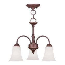 Joshua Marshal - Vintage Bronze Down Chandelier - Vintage Bronze Down Chandelier