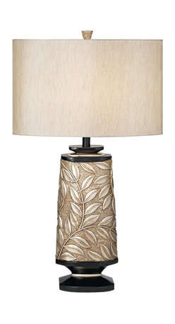 Pacific Coast Lighting - Pacific Coast Lighting 87-1702-S6 Marrakesh Garden Table Lamp - Softly Silvered Finish