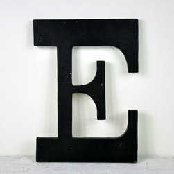 Vintage Wood Sign Letter, Letter E by Haven Vintage - Letters are a common theme in vintage collections, but I still really love them. They always look cute in kids' rooms or on display on a bookshelf or bar.