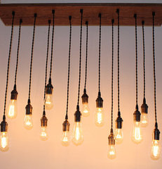 eclectic ceiling lighting by Atypical Type A