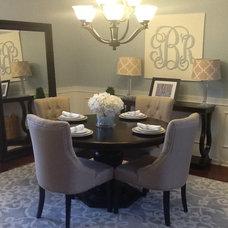Gina Beckner Designs.  Dining Room.