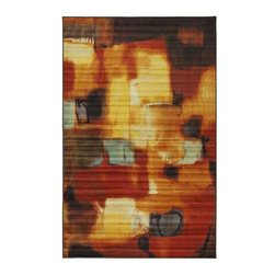 Mohawk - Contemporary Architects Dream Multi 5'x8' Rectangle Multi Color Area Rug - The Architects Dream Multi area rug Collection offers an affordable assortment of Contemporary stylings. Architects Dream Multi features a blend of natural Multi Color color. Machine Made of Nylon the Architects Dream Multi Collection is an intriguing compliment to any decor.