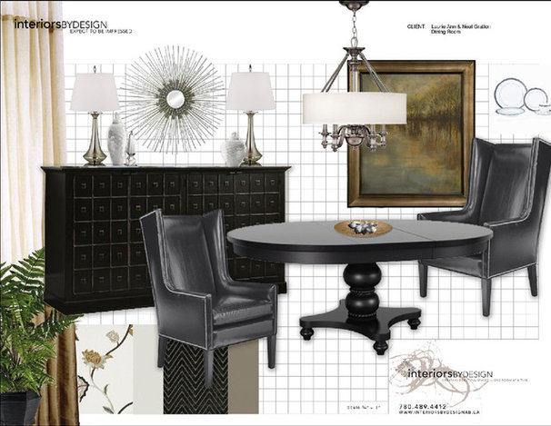 by Marie Hebson's interiorsBYDESIGN Inc.