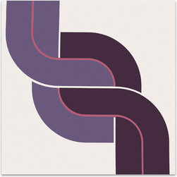 "Graphilia - """"Braid"" by Bob Ross 1975 Original Vintage Serigraph"" - Original 1975 serigraph by Bob Ross."