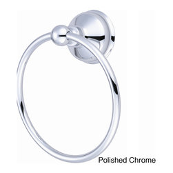 Pioneer - Pioneer Americana Series Towel Ring - Hang your towel on this stylish Pioneer towel ring. A polished brass highlights this ring.
