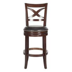 Nailhead trim bar stool bar stools counter stools shop for barstools and kitchen stools online - Leather bar stools with nailhead trim ...