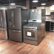 Contemporary Gas Ranges And Electric Ranges by C&K Appliance Supply, Inc.