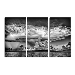 Ready2HangArt - Ready2hangart Bruce Bain 'Clouds' Canvas Wall Art - This beautiful canvas wall art is from photographer Bruce Bain. His work employs elements of imagination to capture a variety of subjects. It is fully finished, arriving ready to hang on the wall of your choice.