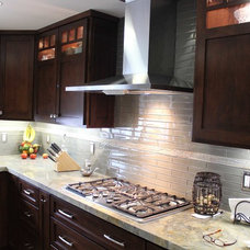 Contemporary Kitchen by D'Ambra Construction
