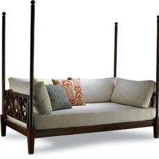 asian day beds and chaises by Johanne Morin Design LLC