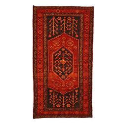 eSaleRugs - 4' 11 x 9' 3 Nanaj Persian Rug - SKU: 110897540 - Hand Knotted Nanaj rug. Made of 100% Wool. 40-50 Years(Semi Antique).