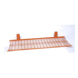 Z Racks - Medium Duty Wire Shelf for Z Rack Garment Rac - Attaches to Medium Duty Z-Racks. Folds for easy storage of Z-Rack. Supports 100 poundsWhen you need more storage, and the items are light, attach this bottom shelf to a Medium Duty Z-Rack.