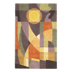 """Kas - Contemporary Signature 2'6""""x4'6"""" Rectangle Pastel Area Rug - The Signature area rug Collection offers an affordable assortment of Contemporary stylings. Signature features a blend of natural Pastel color. Hand Tufted of 100% Wool the Signature Collection is an intriguing compliment to any decor."""