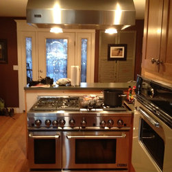 New stove and hood installation - Barry Cameron