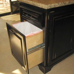 Cabinet accessories - trash pullout -