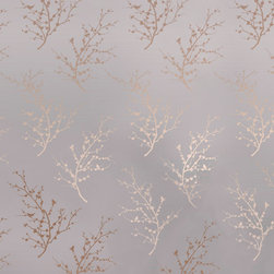 LOLLIPROPS, INC., LPI - Edie Removable Wallpaper, Bronze - The metallic branches in this temporary wallpaper will completely transform any room into a stylish oasis. The look is ultra sophisticated and easy to apply since it has a self-adhesive backing. And you don't have to worry about making a permanent investment since it simply peels off without harming the wall when you're ready to change the look.