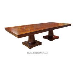 ERA Interiors - Neoclassical Double Pedestal Dining Table - ERA Interiors