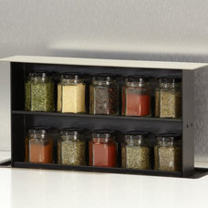 Spice Jars And Spice Racks by Jamie Gold, CKD, CAPS
