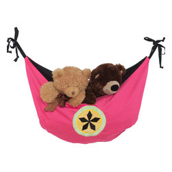 Magical Michayla - Toy Bag - Toy bag has pleats at bottom to allow more room for toys and storage.  Bag is  hung utilizing the ties on each side.  Also available in sets!