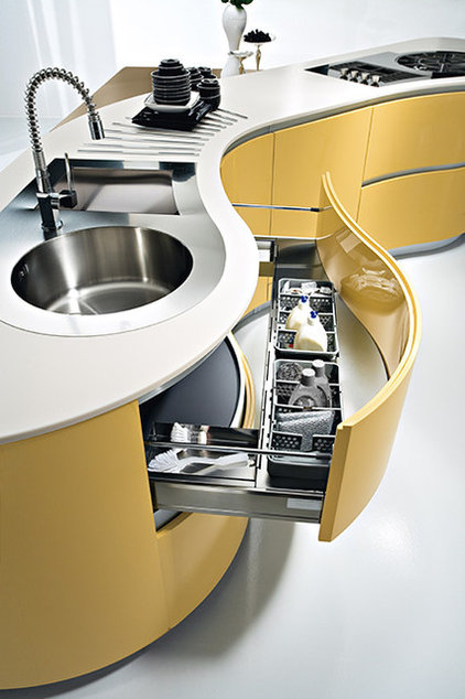 Contemporary Kitchen Cabinetry by Pedini Kitchens