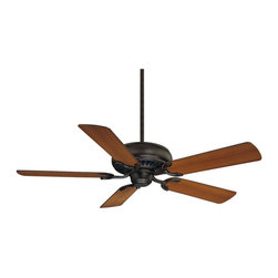 The Pine Harbor Ceiling Fan - Adaptable to a wide range of spaces, this simple ceiling fan flaunts signature Savoy House quality with a stately English Bronze finish. Features reversible fan blades for optimal customization! Choose between Walnut and Teak blade colors. Blades included. Weight: 16. 10 lbsFinish: English BronzeFan Blade Color: Walnut / TeakBulbs Included: NoDownrod Width: 0. 50Blade Pitch: 12. 00Safety Rating: UL, CULVoltage: 120