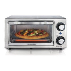 Hamilton Beach 31138 Stainless Steel 4 Slice Toaster Oven - About Hamilton BeachOne of the country's leading distributors of small kitchen appliances, Hamilton Beach Brands, Inc. sells over 35 million appliances every year. The company's most famous brands -- Hamilton Beach, Eclectrics, Proctor Silex, and TrueAir -- are found in households across America, Canada, and Mexico. Hamilton Beach takes immense pride in their product quality, wide variety of options, superior customer service, and brand name strength and remains committed to serving customers through Good Thinking applied to the style and function in all of their small electric appliances.