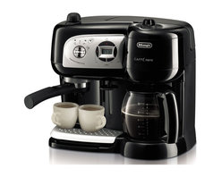 DeLonghi - Cafe Nero Combo Coffee and Espresso Maker - Features: