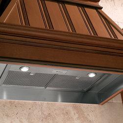"GE Monogram - GE Monogram® 36"" Custom Hood Insert - Monogram custom hood inserts install easily inside almost any decorative canopy."