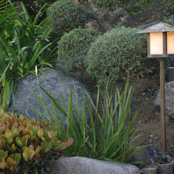 Raving Fans of Old California Lantern - Handmade Craftsman Garden Lighting that is perfect for your bungalow, mission style or arts and crafts home.