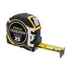 """Stanley Tools - STANLEY FMHT33338L FatMax 25ft Auto-Lock Tape Measure - Auto-lock mechanism increases blade life; Provides greater control; Increases reach & efficiency with excellent standout; Tape length: 25ft; Tape width: 1 1/4"""" wide"""