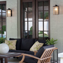 Lighting Ideas - Hinkley Lighting Ledgewood 1129MR Outdoor Lantern.  GU24 Option Available.