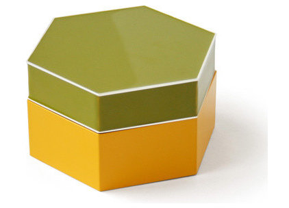 modern storage boxes by Jonathan Adler