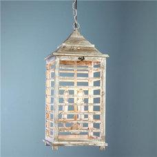 Wooden Shutter Lantern - Shades of Light