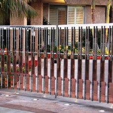 Contemporary Home Fencing And Gates by Wiemann Metalcraft