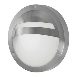 Eglo USA - Eglo USA Sevilla 88109A Outdoor Wall Light Multicolor - 88109A - Shop for Wall Mounted from Hayneedle.com! 100% weather resistant the Eglo USA Sevilla 88109A Outdoor Wall Light;exudes contemporary style with a clean round hooded frame smooth white glass and a stainless steel construction and finish. About EGLOEGLO Group is an international enterprise with Tyrolean roots. At home all over the world this company blends Austrian traditions with cultural influences for a varied and creative product range. EGLO was founded in 1969 by Ludwig Obwieser and launched as EGLO Leuchten in Austria. For over 40 years they have evolved into a leading manufacturer of decorative interior lighting. EGLO creates trends. Over 90% of their lighting products are designed in-house and come from constant exchanges with customers suppliers and respected designers. EGLO: my light my style.