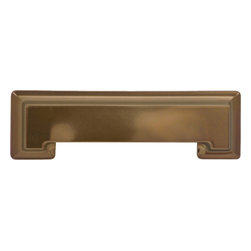 Hickory Hardware - Studio Collection Veneti Bronze Cup Cabinet Pull - Bridges contemporary and traditional design.  Offering a deep rooted sense of history in some, with an updated feel and cleaner lines.