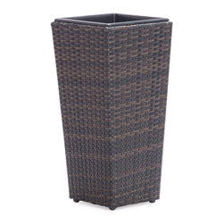 Zuo Modern - Zuo Modern Coromandel Small Planter in Brown - Small Planter in Brown belongs to Coromandel Collection by Zuo Modern Planter (1)