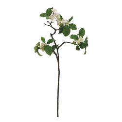 Silk Plants Direct - Silk Plants Direct Apple Blossom (Pack of 6) - Pack of 6. Silk Plants Direct specializes in manufacturing, design and supply of the most life-like, premium quality artificial plants, trees, flowers, arrangements, topiaries and containers for home, office and commercial use. Our Apple Blossom includes the following: