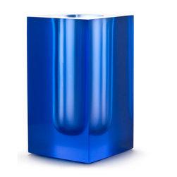 Bel Air Test Tube Vase, Blue - I love the modern feel of this test tube vase.