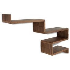 Modern Display And Wall Shelves  Idaho Shelf Set