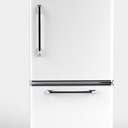 Big Chill - Big Chill Retropolitan 18-1/2-Cubic-Feet Fridge with Slide-Out Freezer, White - I love the look of retro appliances. This Big Chill refrigerator will bring a touch of class to the kitchen.