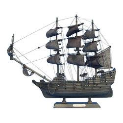 "Handcrafted Model Ships - Flying Dutchman 14"" - Flying Dutchman Model Ship - Old fully assembled"