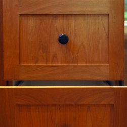 Glorious Wood  (built-in cabinets +) - A close up of our great cabinet work!