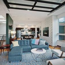 Modern Living Room by brio interior design